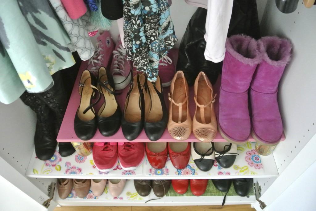 Endlich mehr Platz für Schuhe!