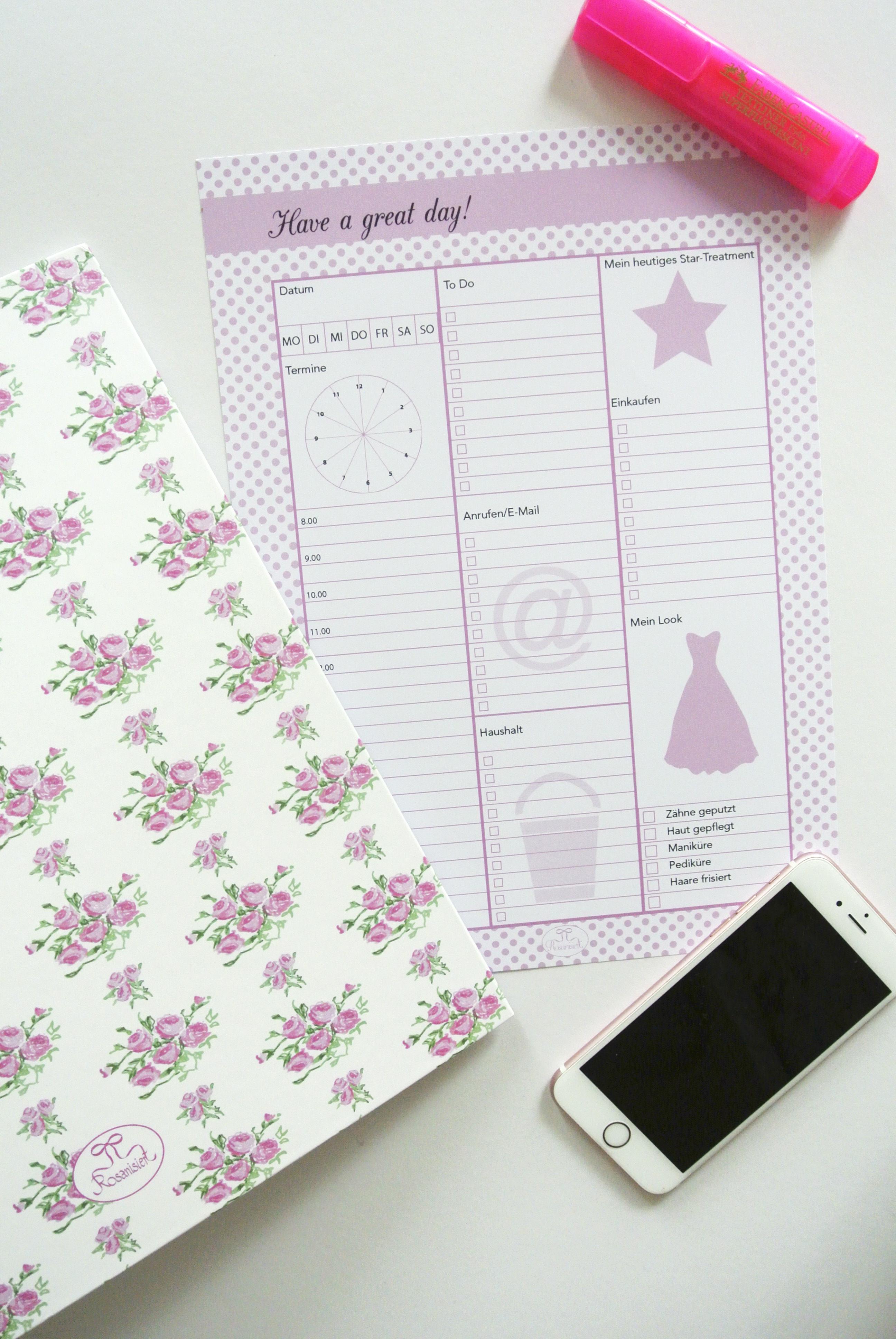 Printable Die schönste To-do-Liste der Welt