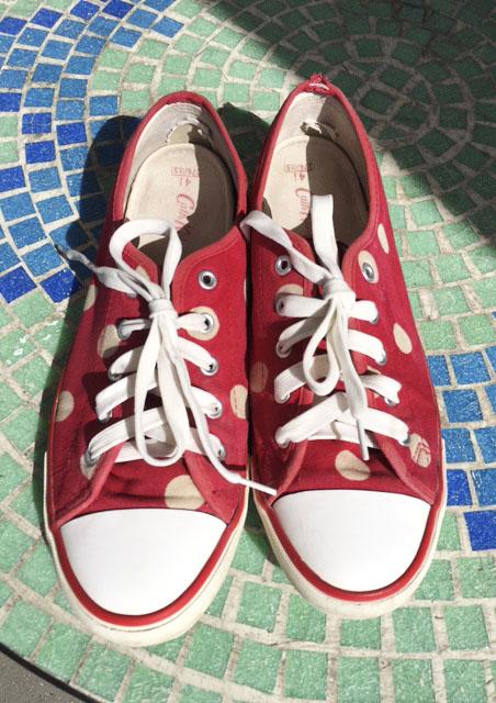 Sneakers reinigen|Rosanisiert der Blog über Ordnung, Putzen und Glamour für Unordentliche