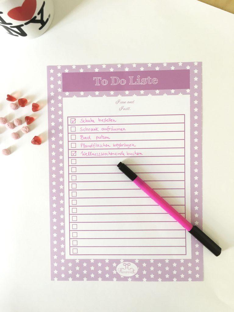 Die neue Rosanisiert To-do-Liste ist da!