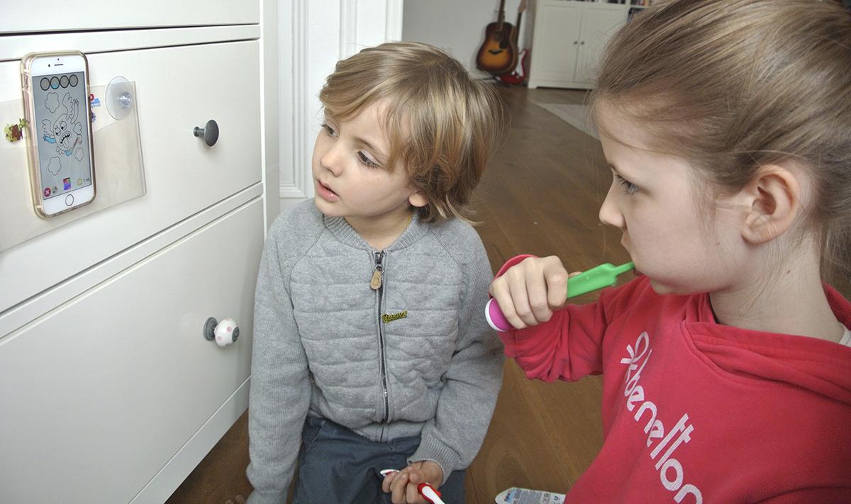 Playbrush verspricht spielerischen Spaß am Zähneputzen. Ob das stimmt, haben wir für euch getestet.