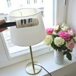 Lampenschirm reinigen leicht gemacht - so kannst du deine Lampe ganz einfach abstauben und wieder strahlen lassen #schoninordnung