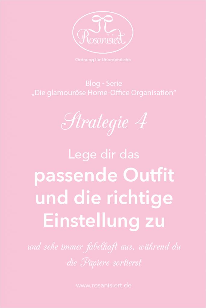 Outfit und Einstellung