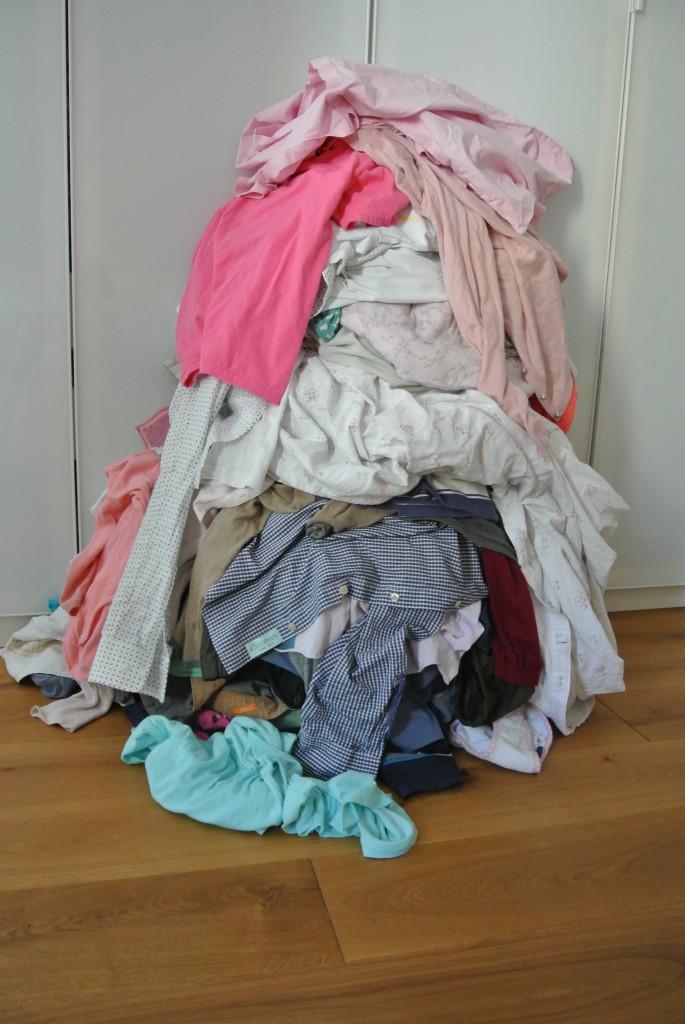 Ein Wäschetag pro Woche ist überwältigend