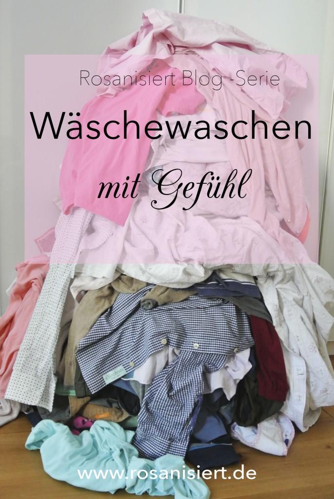 Wäschewaschen mit Gefühl
