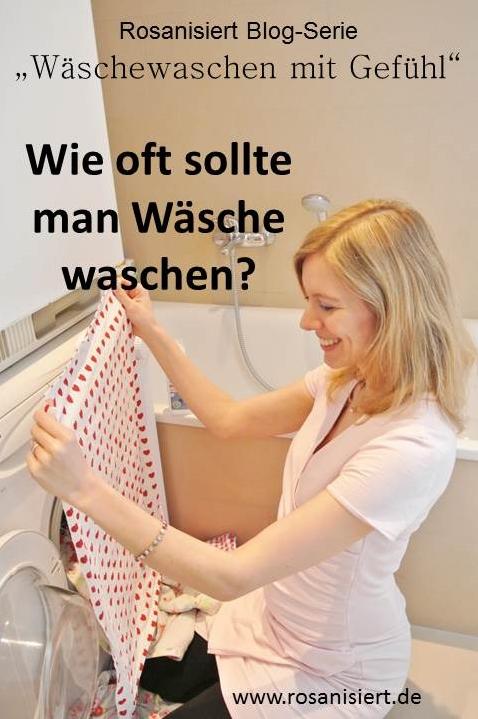 Wie oft sollte man Wäsche waschen
