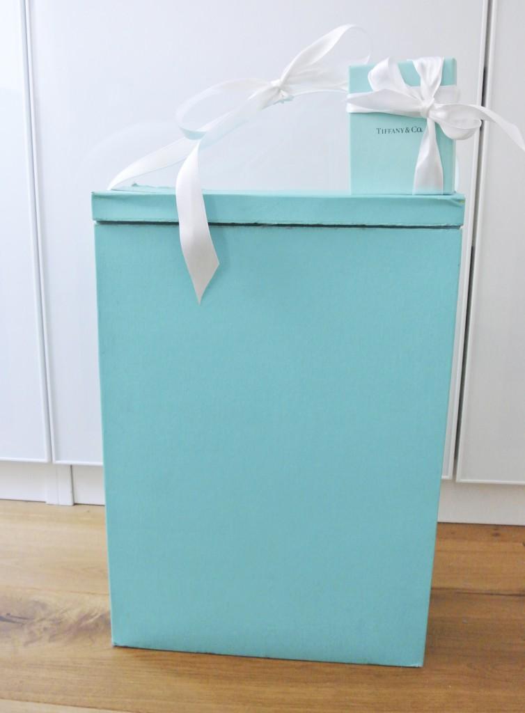 Waschmittelkarton im Tiffanydesign
