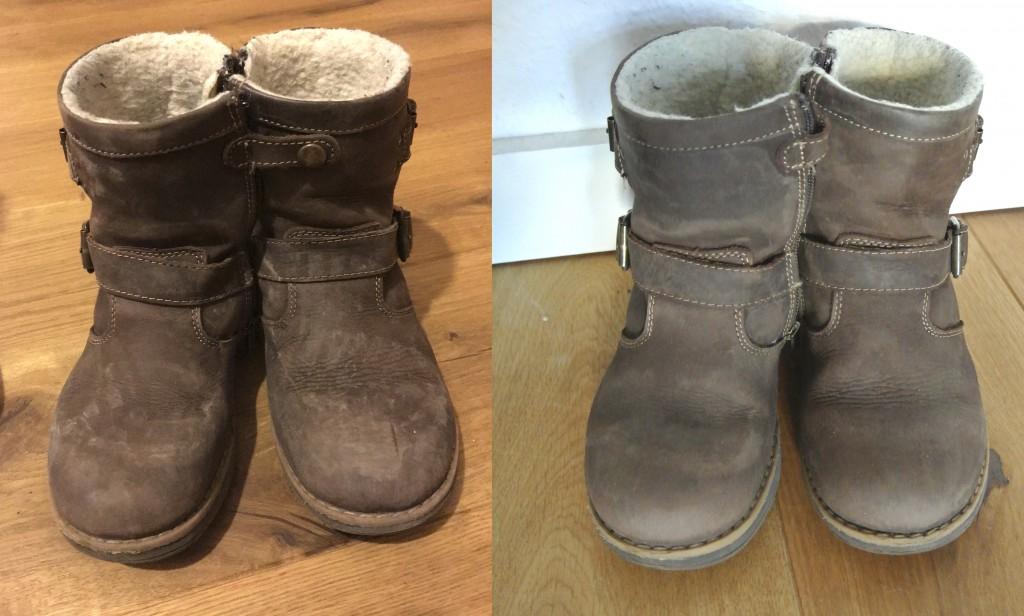 Schuhe von Willi reinigen mit Clean-o-fox