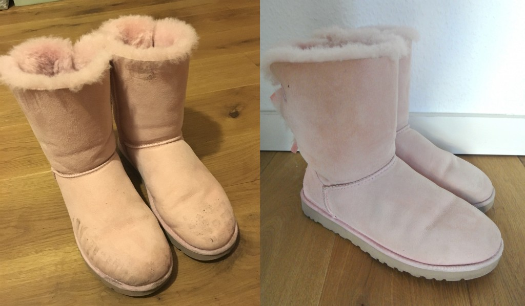 UGG-Boots reinigen mit Clean-o-fox