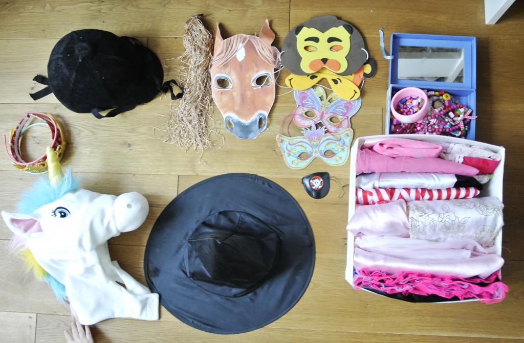 Verkleidungskiste einrichten| Rosanisiert - Ordnung für Unordentliche