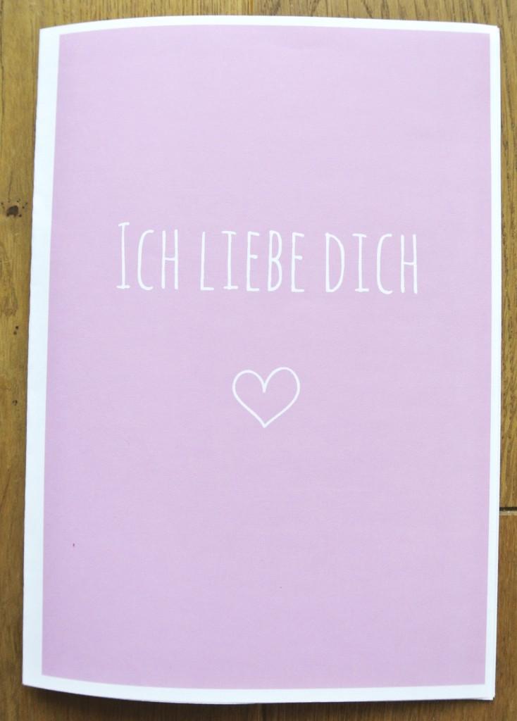 Liebesbrief zum Ausdrucken und Ausfüllen| free printable von Rosanisiert - Ordnung für Unordentliche