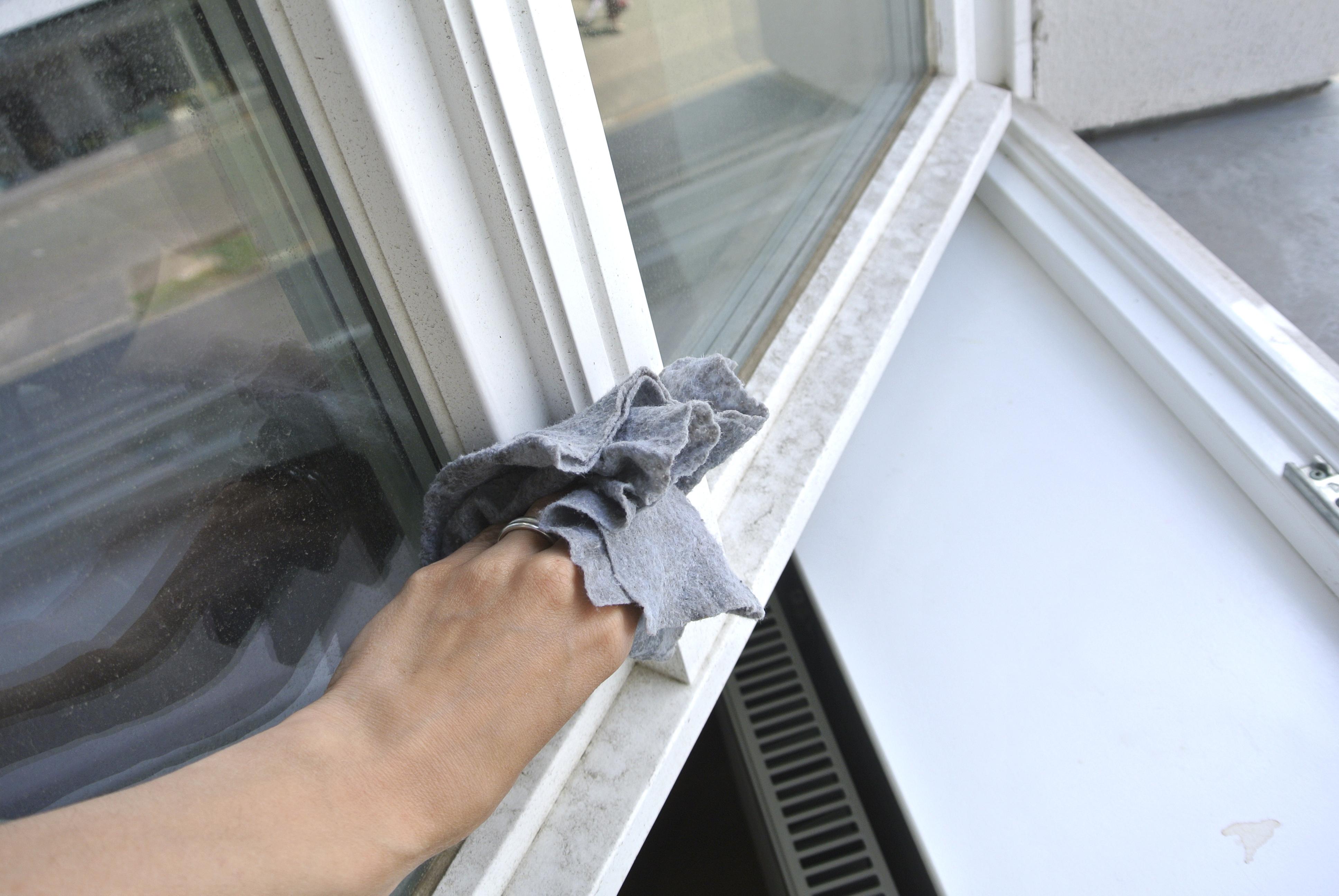 Fensterputzen mit WOW-Effekt - Rosanisiert