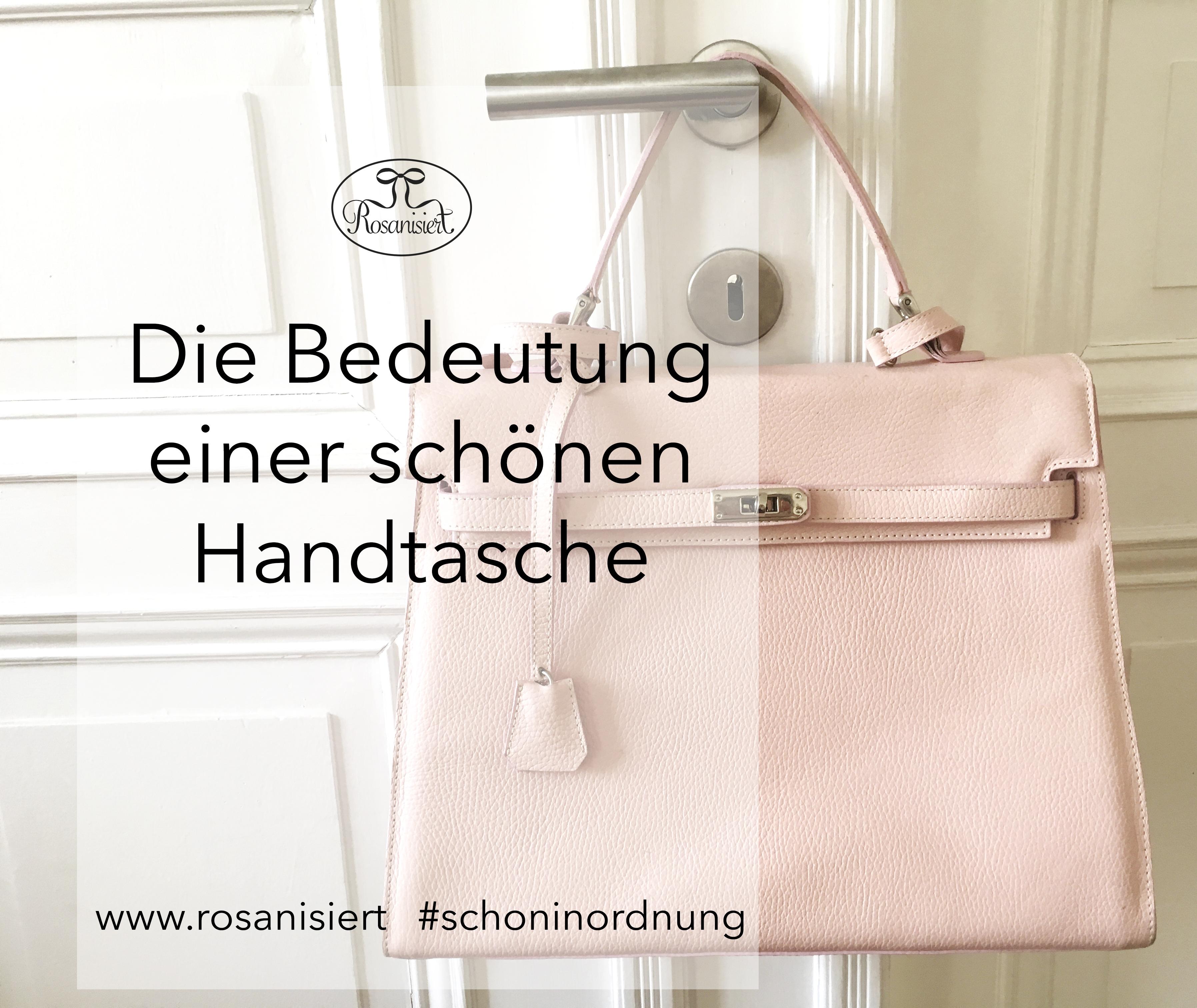 Die Bedeutung einer schönen Handtasche Rosanisiert