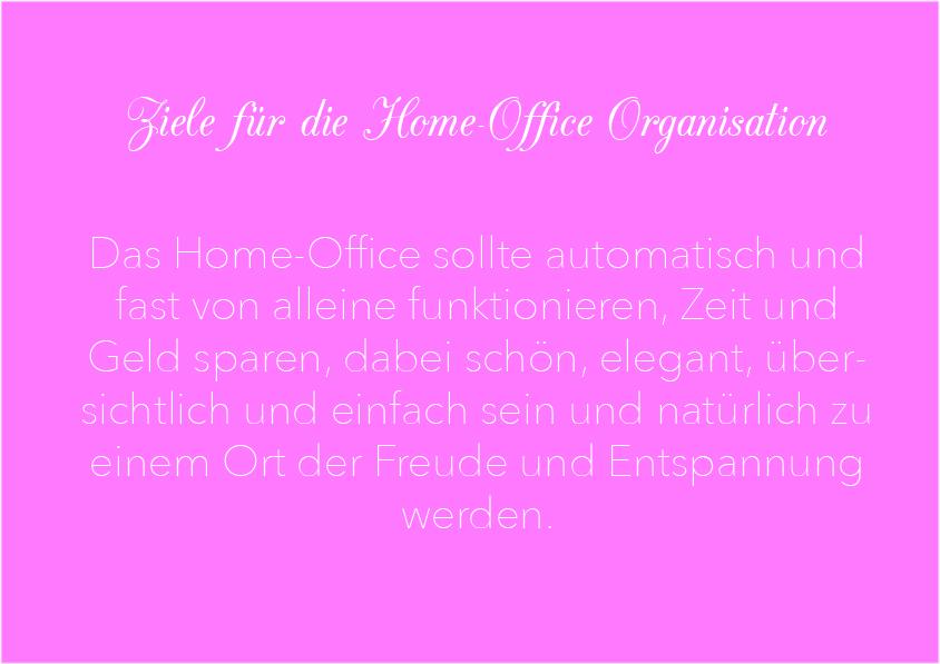 Ziele für das Home-Office
