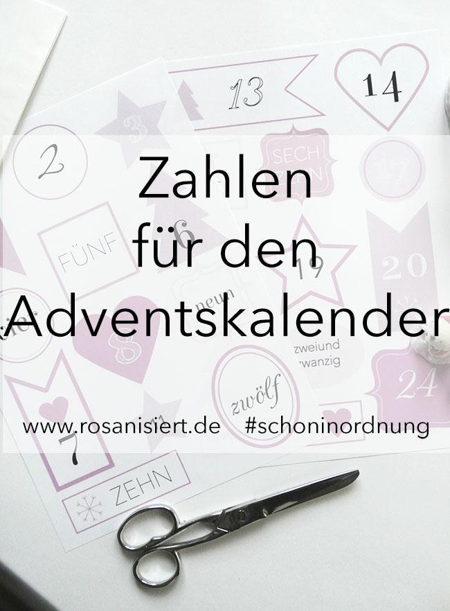 Free-Printable-Friday - Zahlen für den Adventskalender ...