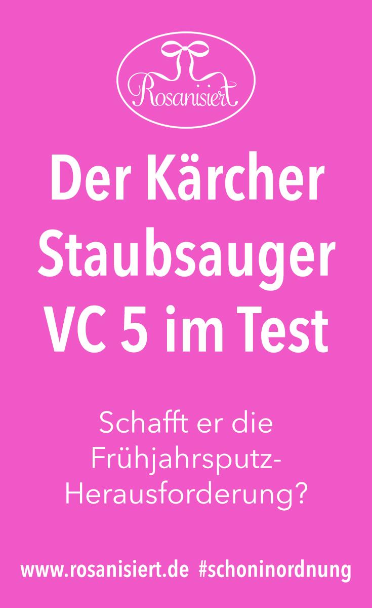 Frühjahrsputz mit dem Kärger Staubsauger VC 5 - Ist er wirklich so kompakt und saugstark? #schoninordnung