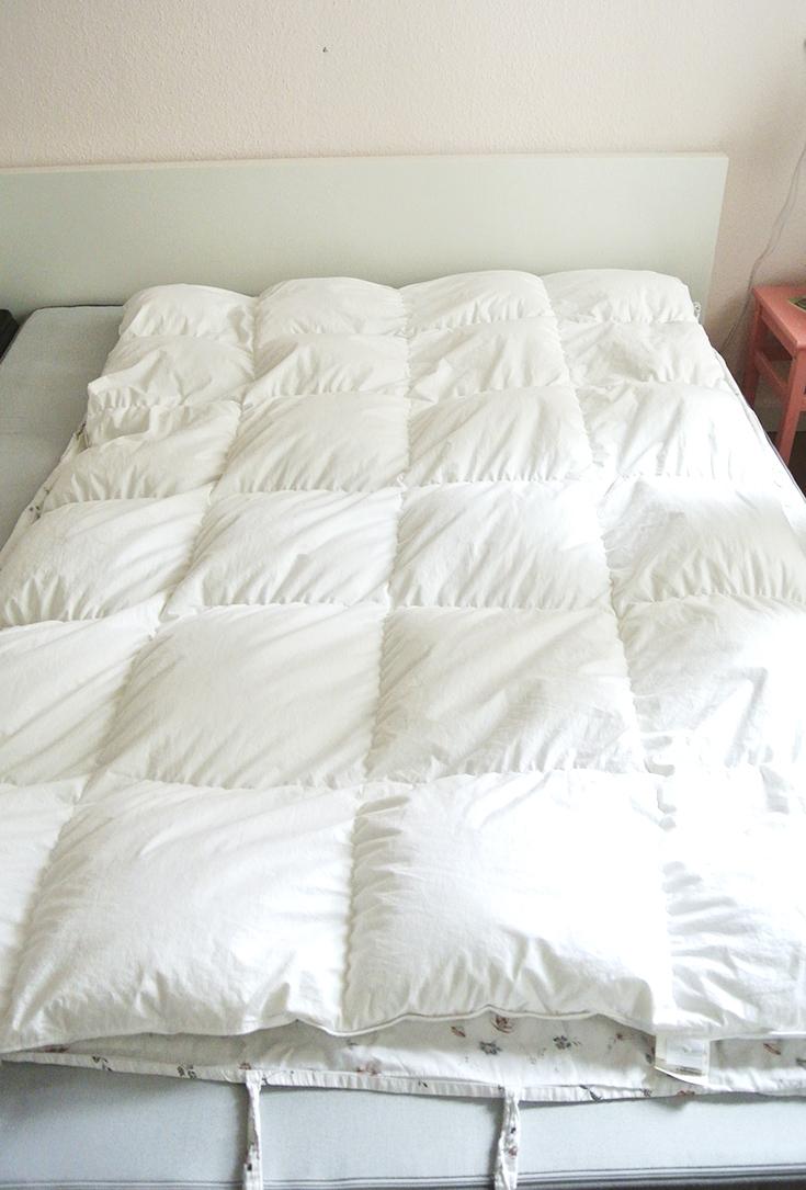 Betten beziehen - kennst du schon diese Methode? Rosanisiert - der Blog über Ordnung, Putzen und (Life)Style
