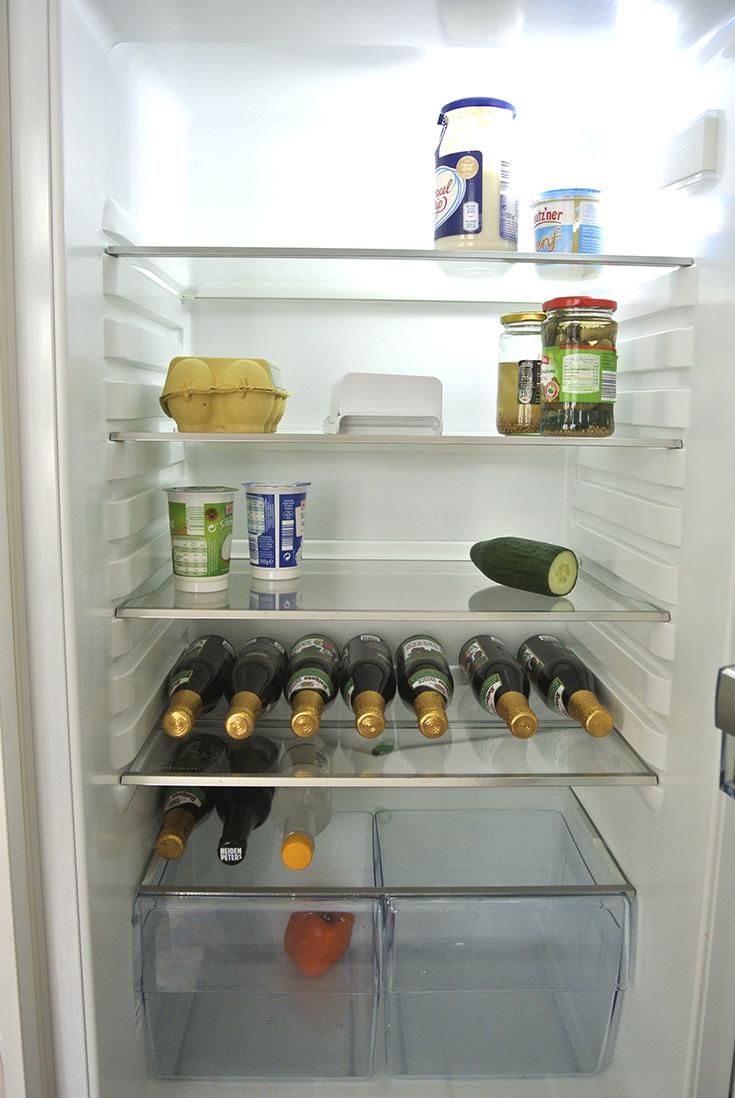 Den Kühlschrank richtig einräumen - Rosanisiert