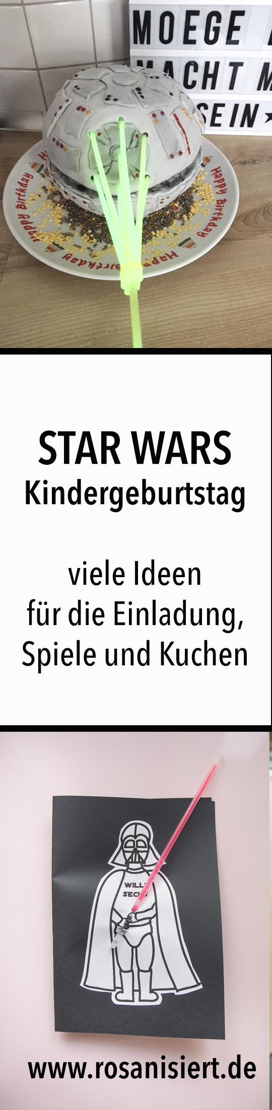 Die Star Wars Party - Unsere Geburtstagsfeier mit Ferrero kinder ...