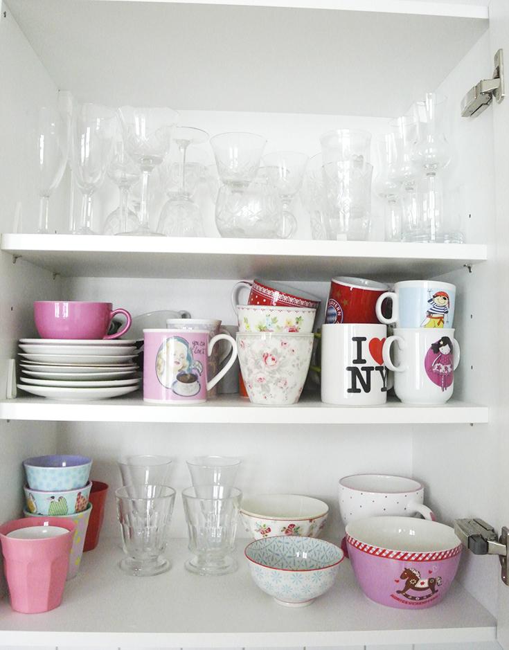 Ordnung in der Küche, mit diesen Tipps und Ideen für die Küchenorganisation kannst du deine Küche leicht organisieren