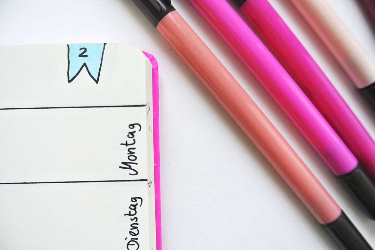 Was ist ein Bullet Journal? Hier gibt es eine Einfache Erklärung und eine Anleitung mit Ideen rund um das Bullet Journal #schoninordnung