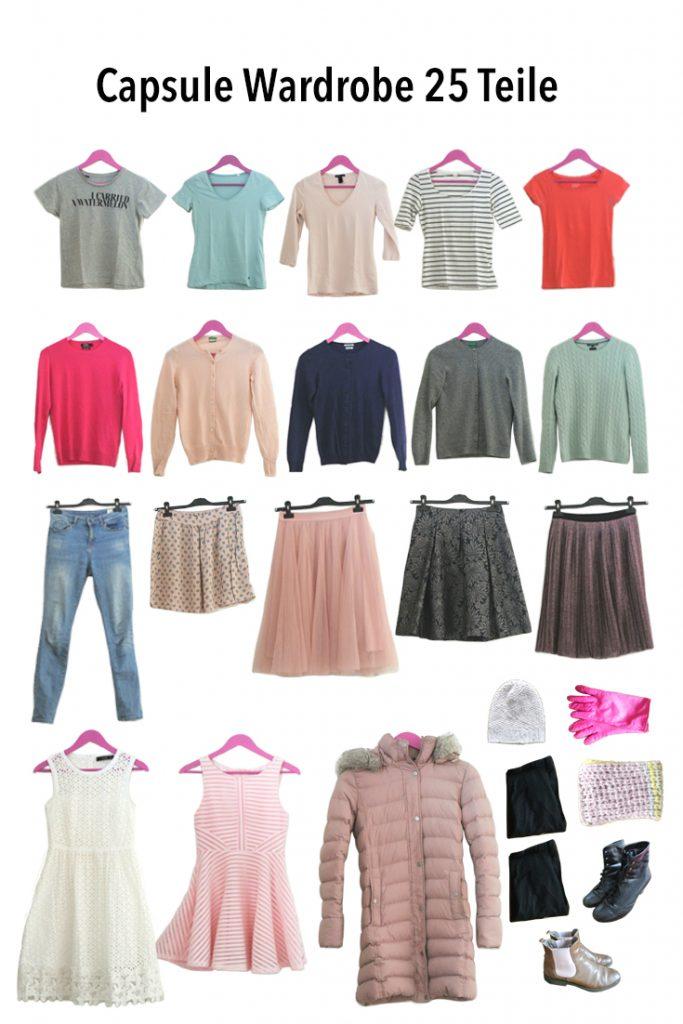 Was ist eine Capsule Wardrobe? So erstellst du eine minimaoistische Garderobe und schaffst Ordnung im Kleiderschrank.