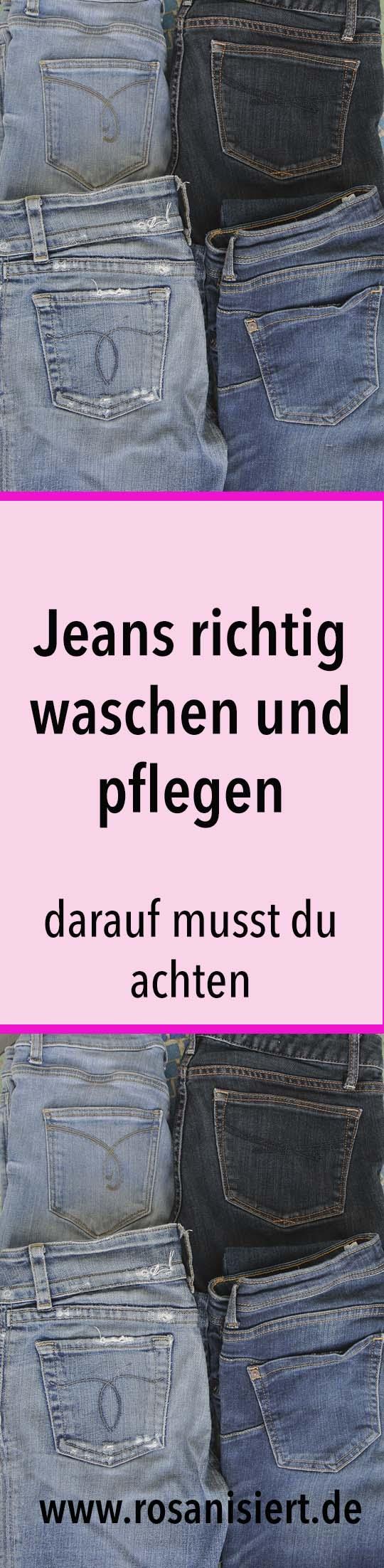 Anzeige: Jeans waschen und pflegen - die besten Tipps, wie eure Jeans lange schön bleibt und der wahre Grund, warum ihr eure Jeans nicht mehr waschen sollt. Außerdem stelle ich euch die Jeans Blau Tücher von Heitmann vor, die die Farbe eurer Jeans auffrischen