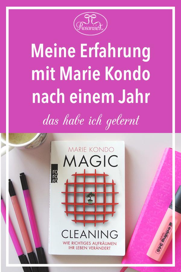 Vor einem Jahr haben wir mit der Magic Cleaning KonMari Methode von Marie Kondo aufgeräumt. Heute teile ich euch meine Erfahrung mit Marie Kondo ein Jahr später.